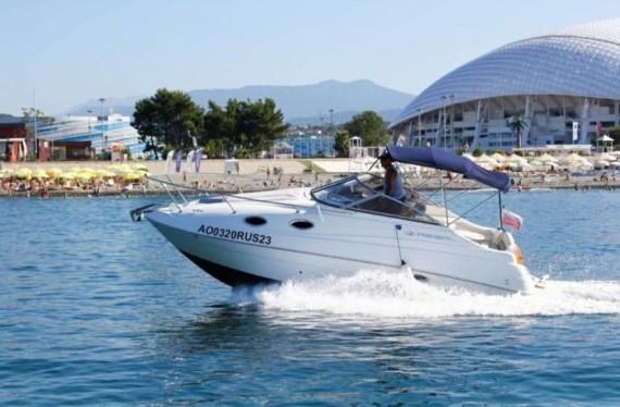 Яхта REGAL к дельфинам